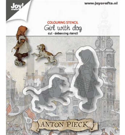 Die - Anton Pieck - Girl with dog