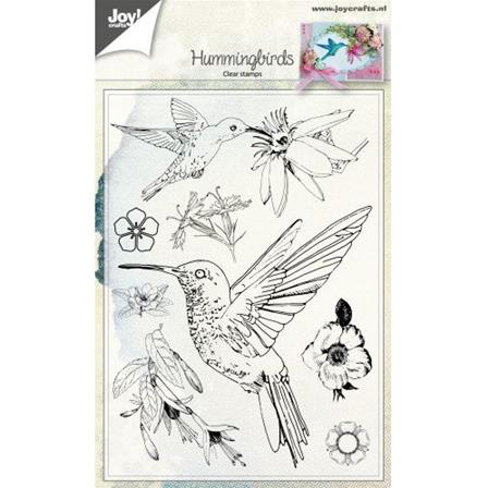 Clear stamp - Hummingbirds