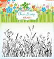 Clear stamps - Grass