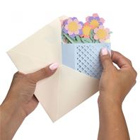 Thinlits - Card in a box, flower basket