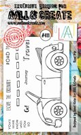 Clear Stamps-A6-#411-Road Trip