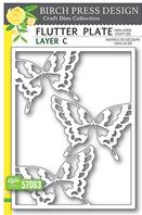 Craft Die - Flutter Plate - Layer C