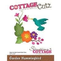 Cottage Cutz - Garden Hummingbird