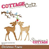 Cottage cutz - Christmas Fawns