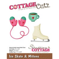 Cottage Cutz - Ice Skate & Mittens