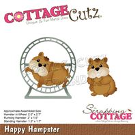 Cottage Cutz - Happy Hamster