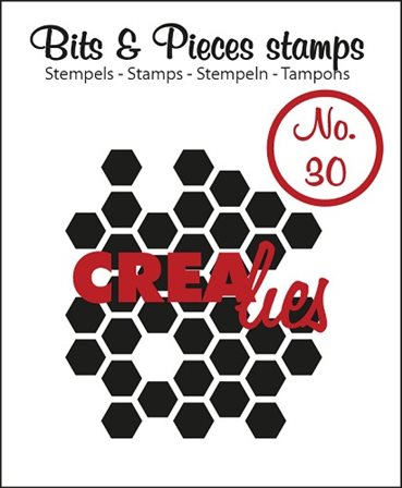 Crealies Clear Stamp - Honeycomb