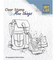 Clear stamp - Backpack