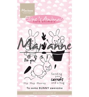 Clear stamp - Cute animals - Bunnies
