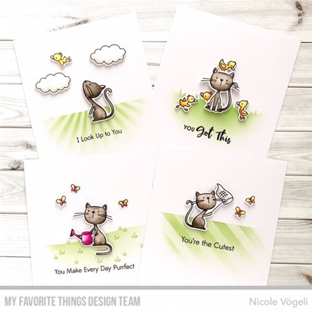Clear Stamps - Purrfect Friends