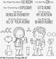 Clear Stamps - Cute Chemists