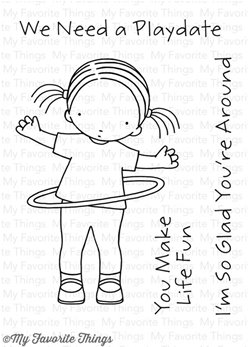 Clear Stamps - Pure Innocence Hula Hoop