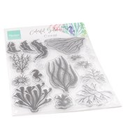 Clear stamp - Coral