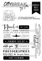 Clear stamps - Grunge - City Break