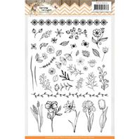 Clear stamp - Spring Delight