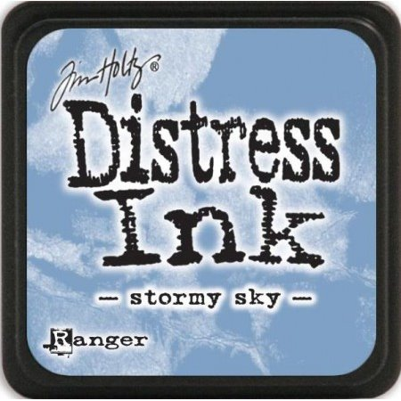 Mini Distress Pad - Stormy Sky