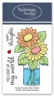 Clear Stamp - Sunny Flowers