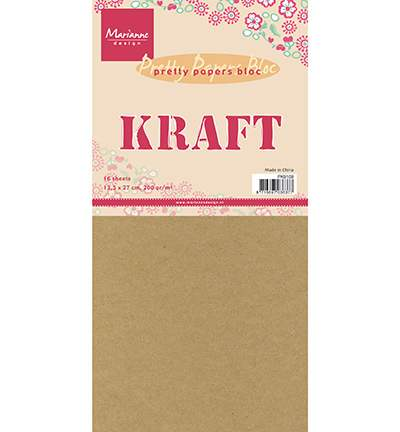Pretty papers bloc - Kraft