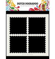 Dutch Card Art - Postal Stamps (A5)