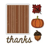 Thinlits & Embossing Folder - Automne