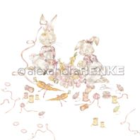 Papier - Happy Easter - Crafting bunnies