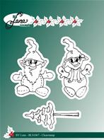 Clear stamp - Gnomes