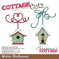 Cottage Cutz - Winter Birdhouses