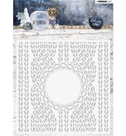 Embossing Folder - Snowy Afternoon - 01