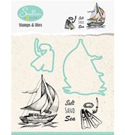Stamps et dies - Holiday - Boat