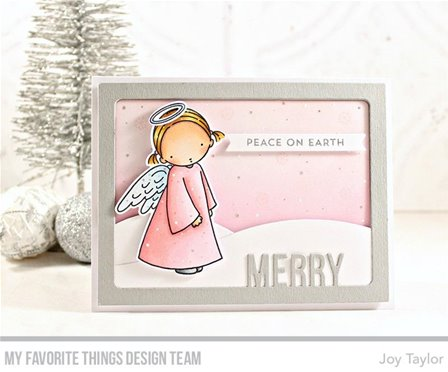 Clear stamp - Angel