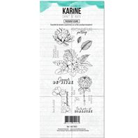 Clear Stamp - Carnet de route - Passion Fleurs