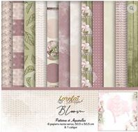 Collection - Bloom - Patterns et aquarelle