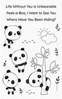 Clear Stamps - Panda Pals