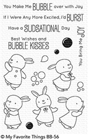 Clear Stamps - Bubble over with Joy
