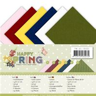 Lot de cartes A5 - Happy Spring