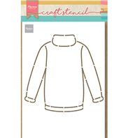 Craft stencil - Sweater