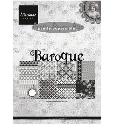 Pretty papers bloc - Baroque