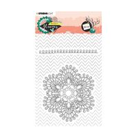 Clear stamp - Sweet Flowers - Mandala