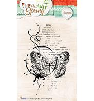 Clear stamp - So Spring -
