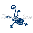 Tattered Lace Die - Little Monsters Monkey