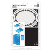 Embossing Floder - A4 - Snowflake frame
