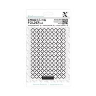 Embossing Folder - Moroccan flower tiles