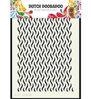 Dutch Mask Art - Floral Waves