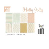 A4 Paper Set - Holly Jolly