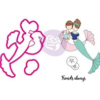 Combo Die & Stamps - Mermaid Kisses Besties