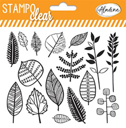 Stampo Clear - Feuilles