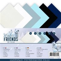 Lot de cartes A5 - Winter Friends