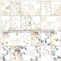 Papier - X-Mas floral - Card sheet nature
