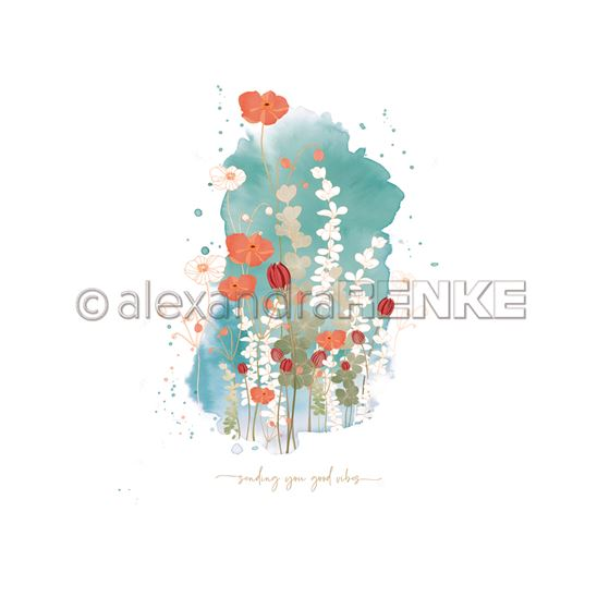 Papier - Memories Floral - Poppy blot