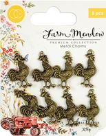 Charm - Farm Meadow - Rooster